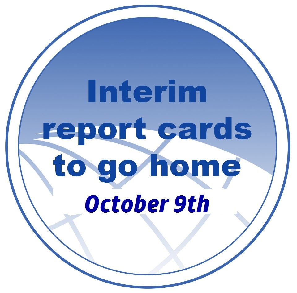 1st Marking Period Interims Issued