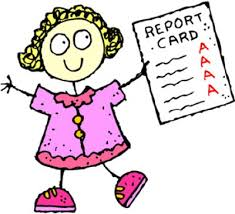 1st Marking Period Report Cards