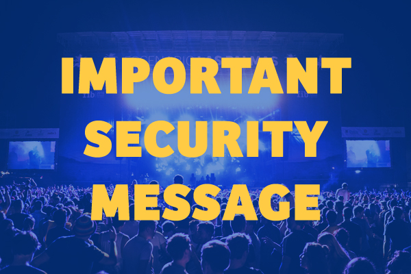 Important Security Message